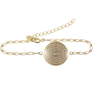 our father gold bracelet