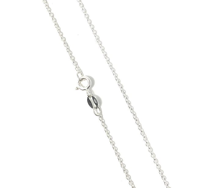925 Sterling Silver Chain Necklace. Rose Gold Plated, Gold Plated Chain - Martinuzzi Accessories