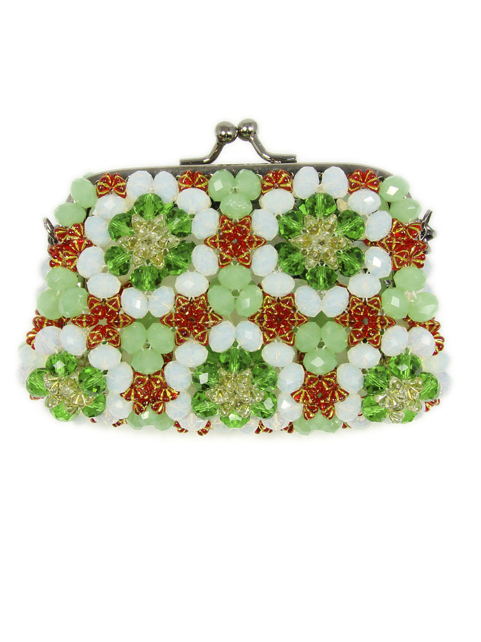green small purse