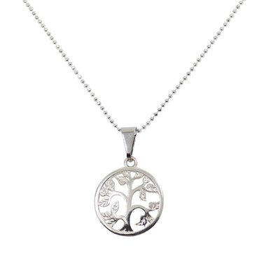 Tree of Life Necklace Tree with Leaves Pendant Necklace
