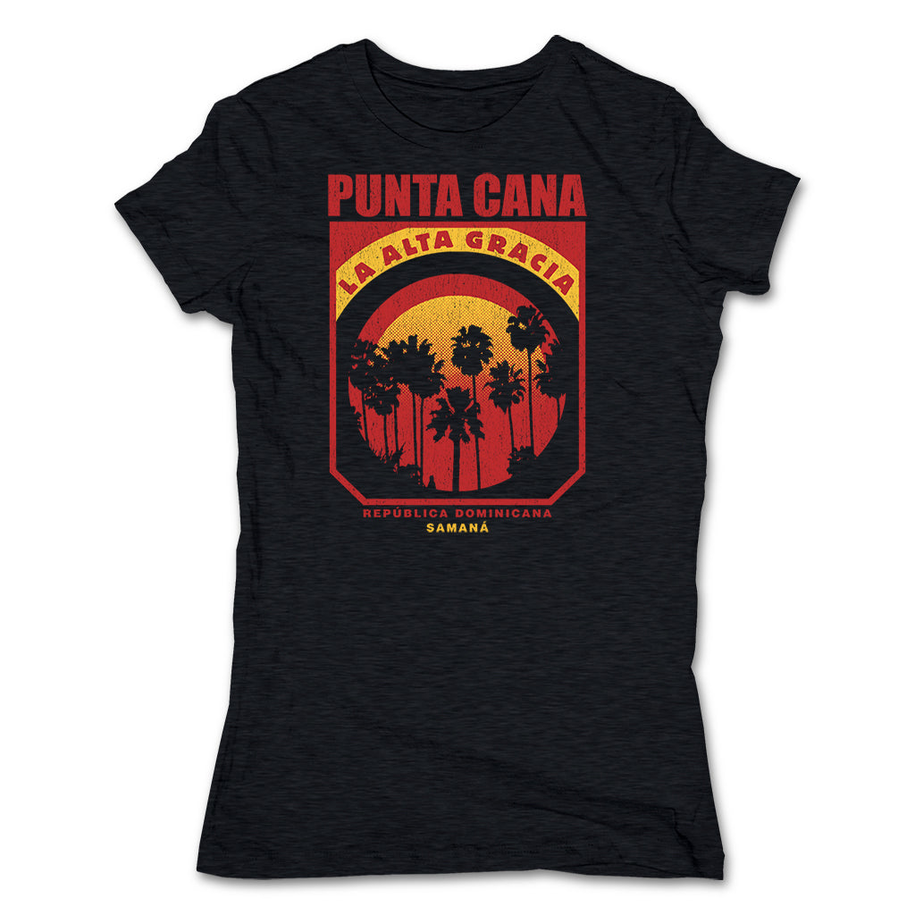 Akonkawa-Punta-Cana-Dominican-Republic-Black-T-Shirt