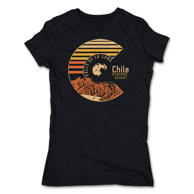 Akonkawa-Valle-De-La-Luna-Chile-Black-T-Shirt
