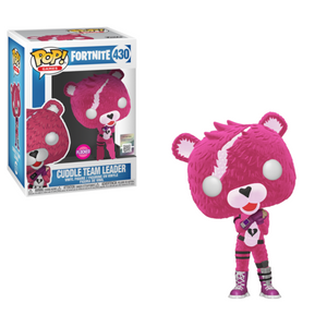 Funko Pop! Fortnite Cuddle Team Leader #430; novelty/collectible