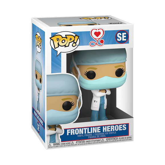 Funko Pop! Frontline Heroes (Female) SE