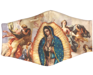 Our Lady Of Guadalupe Cloth Face Mask - Angels