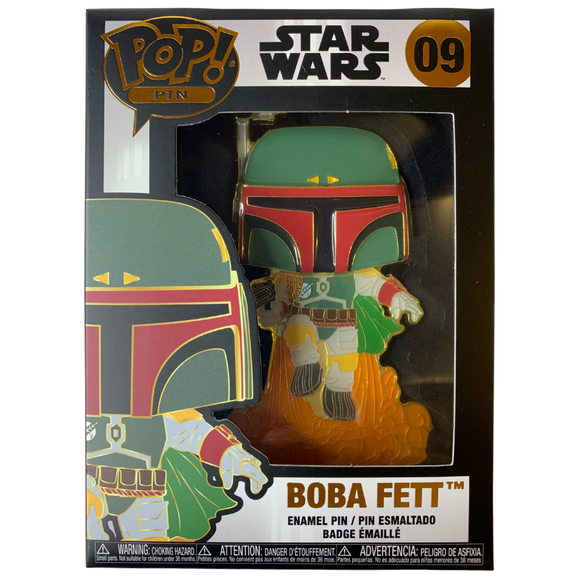 Funko Pop! Pin Star Wars Boba Fett