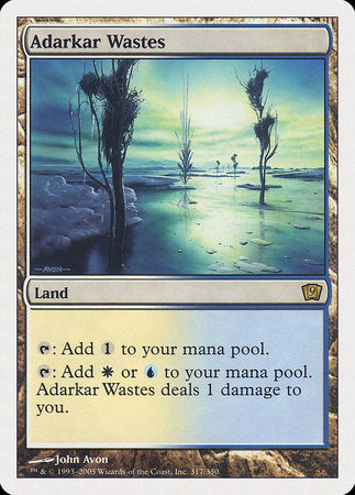 Adarkar Wastes [Ninth Edition] | High Tide Games