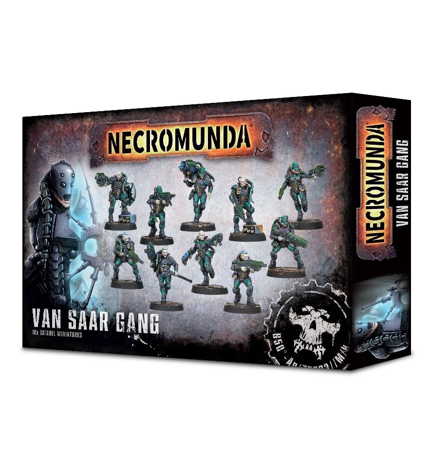 Necromunda: Van Saar Gang | High Tide Games