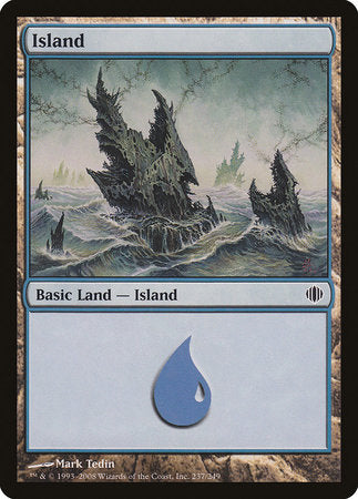 Island (237) [Shards of Alara] | High Tide Games