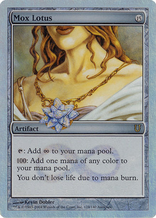 Mox Lotus (Alternate Foil) [Unhinged] | High Tide Games
