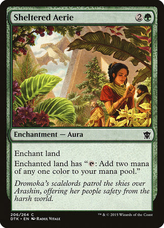 Sheltered Aerie [Dragons of Tarkir] | High Tide Games