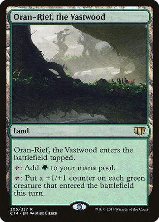 Oran-Rief, the Vastwood [Commander 2014] | High Tide Games