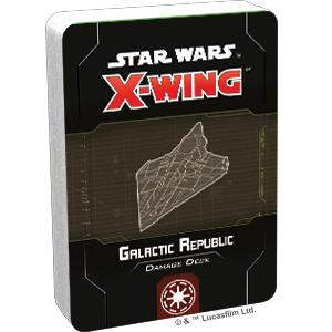 Star Wars X-Wing: Galactic Republic Damage Deck (Pre-Order) | High Tide Games