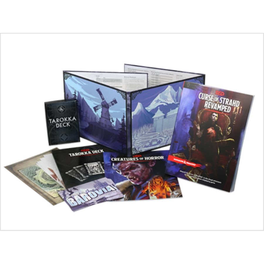 Curse of Strahd: Revamped Box Set (PreOrder) | High Tide Games