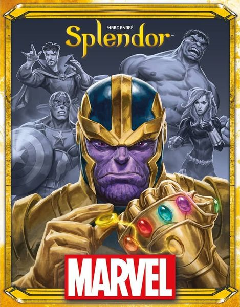 Splendor - Marvel | High Tide Games
