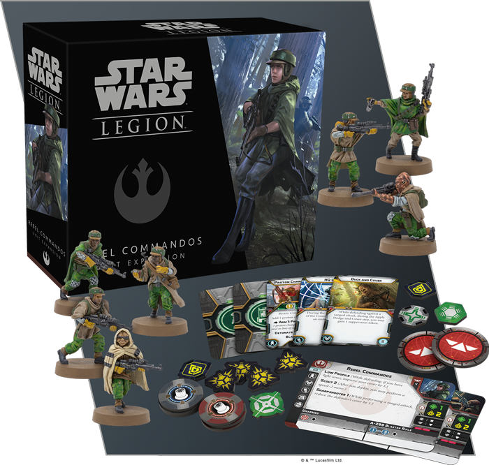 Star Wars Legion: Rebel Commandos Unit Expansion | High Tide Games