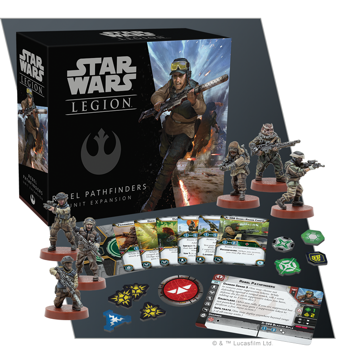 Star Wars Legion: Rebel Pathfinders Unit Expansion | High Tide Games