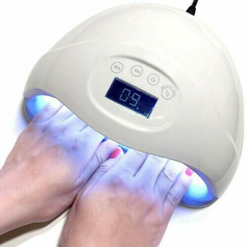 SUN5 Plus 48W LED Nail Lamp UV Polish Dryer