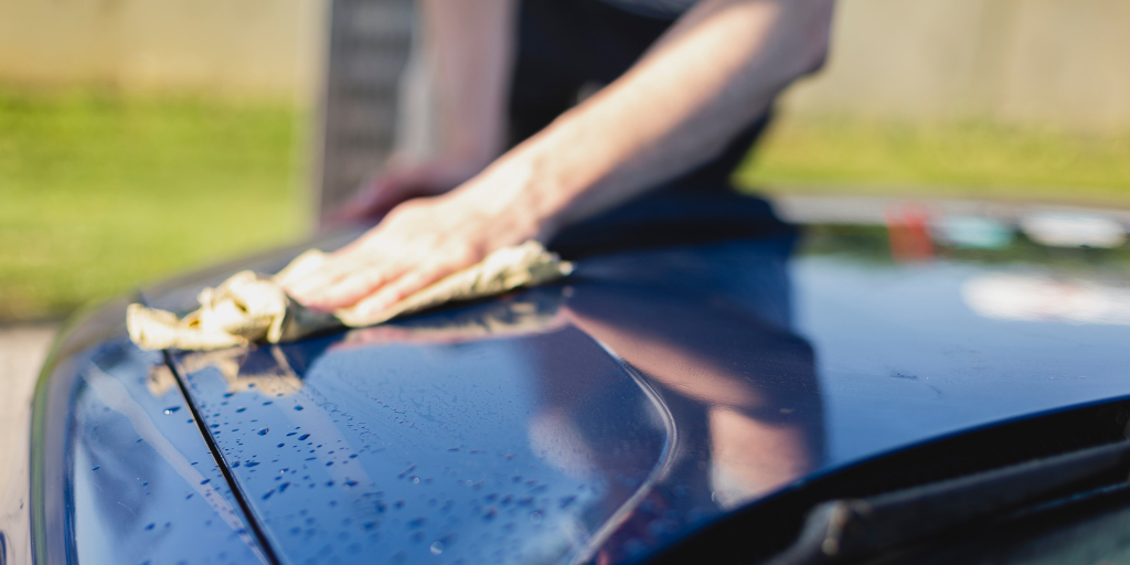 how to properly dry a car