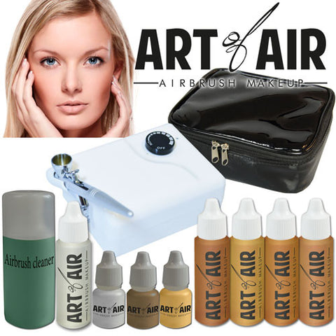 Cosmetic Airbrush System - MEDIUM Tone
