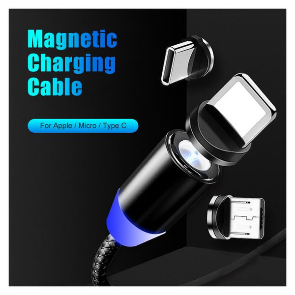 Câble Magnétique Charge Samsung / IPhone