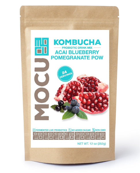 Kombucha Acai Blueberry Pomegranate Pow
