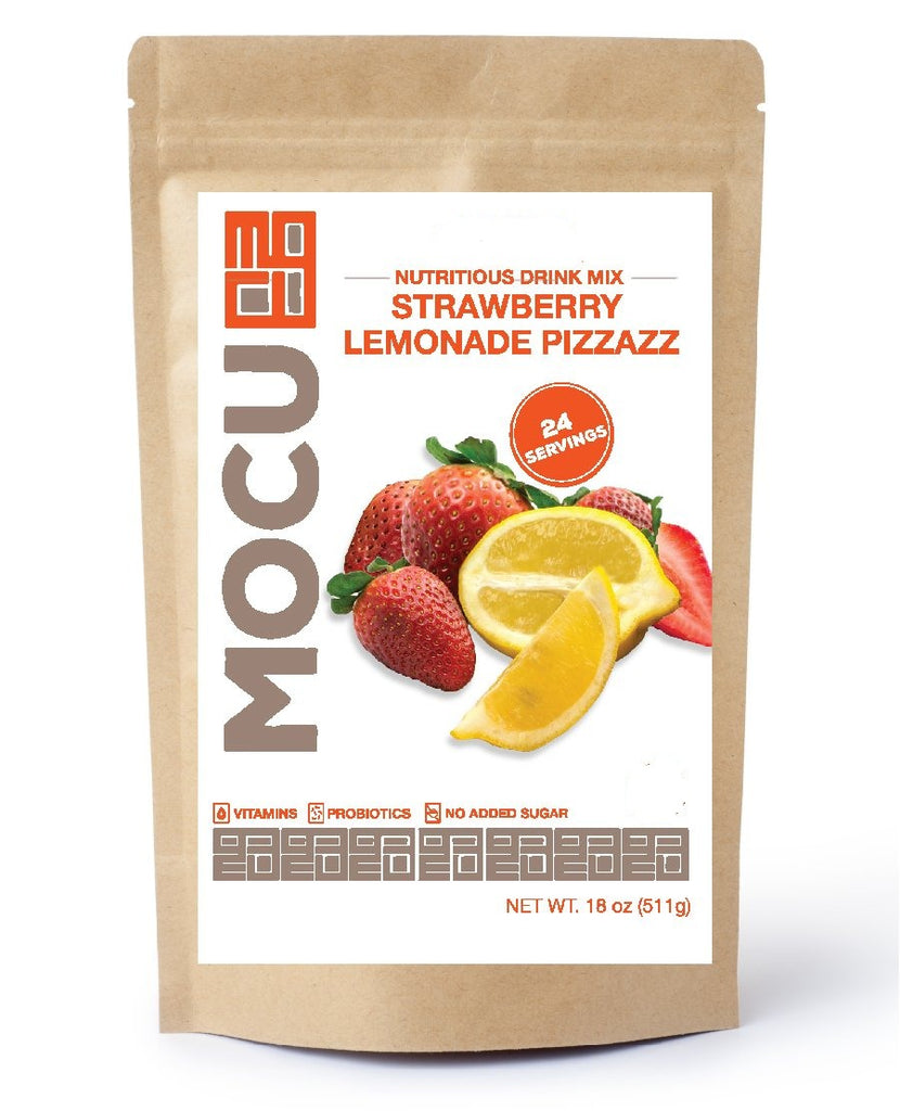 Strawberry Lemonade Pizzazz Probiotic Vitamin Drink Mix