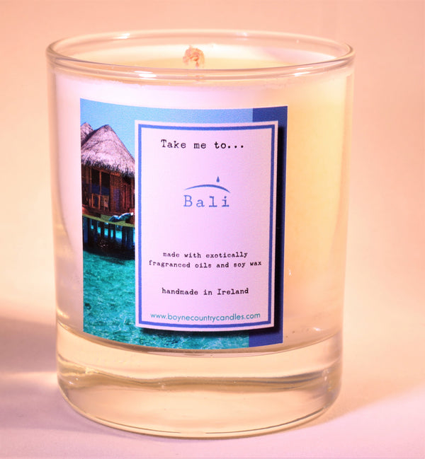 Take me to ..... Bali Candle - 30cl