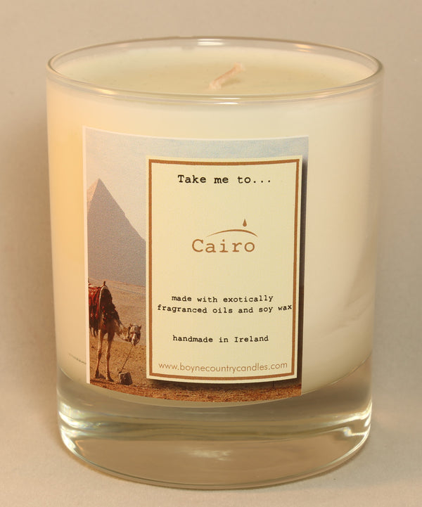 Take me to ...... Cairo Candle - 30cl