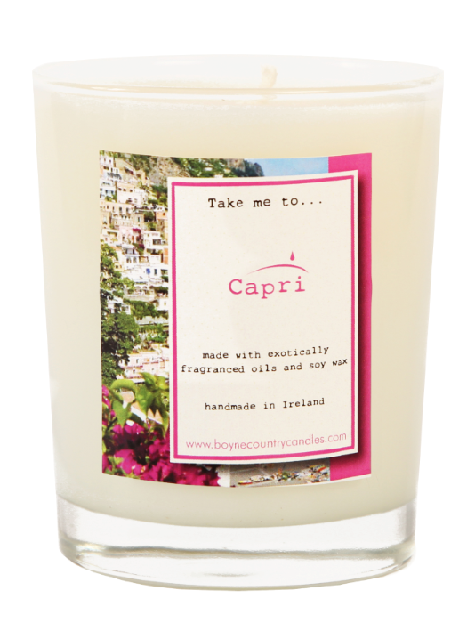 Take me to ..... Capri Candle - 27cl