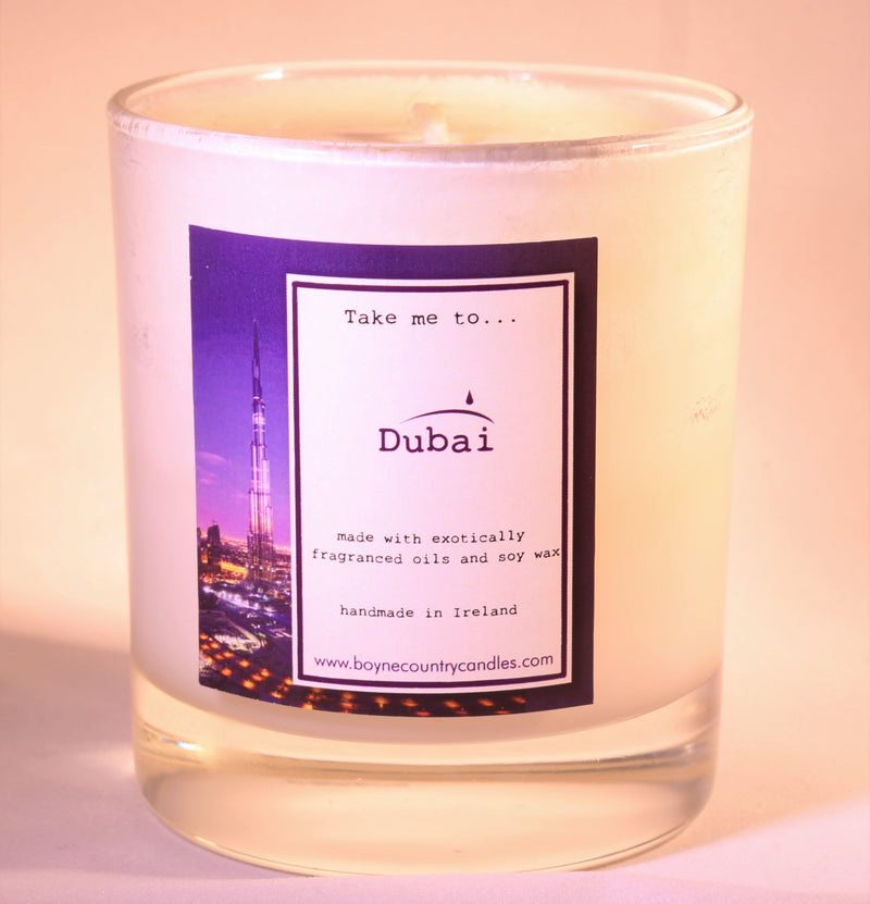 Dreaming of ..... Dubai Candle - 30cl