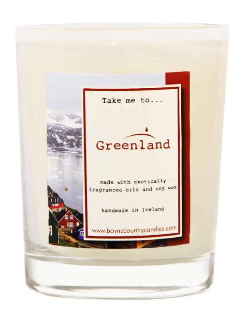 Take me to ..... Greenland Candle - 27cl