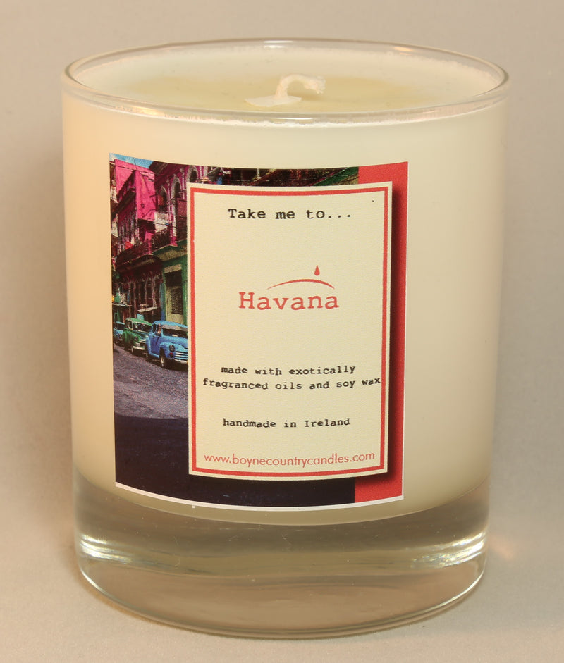 Take me to ...... Havana Candle - 30cl