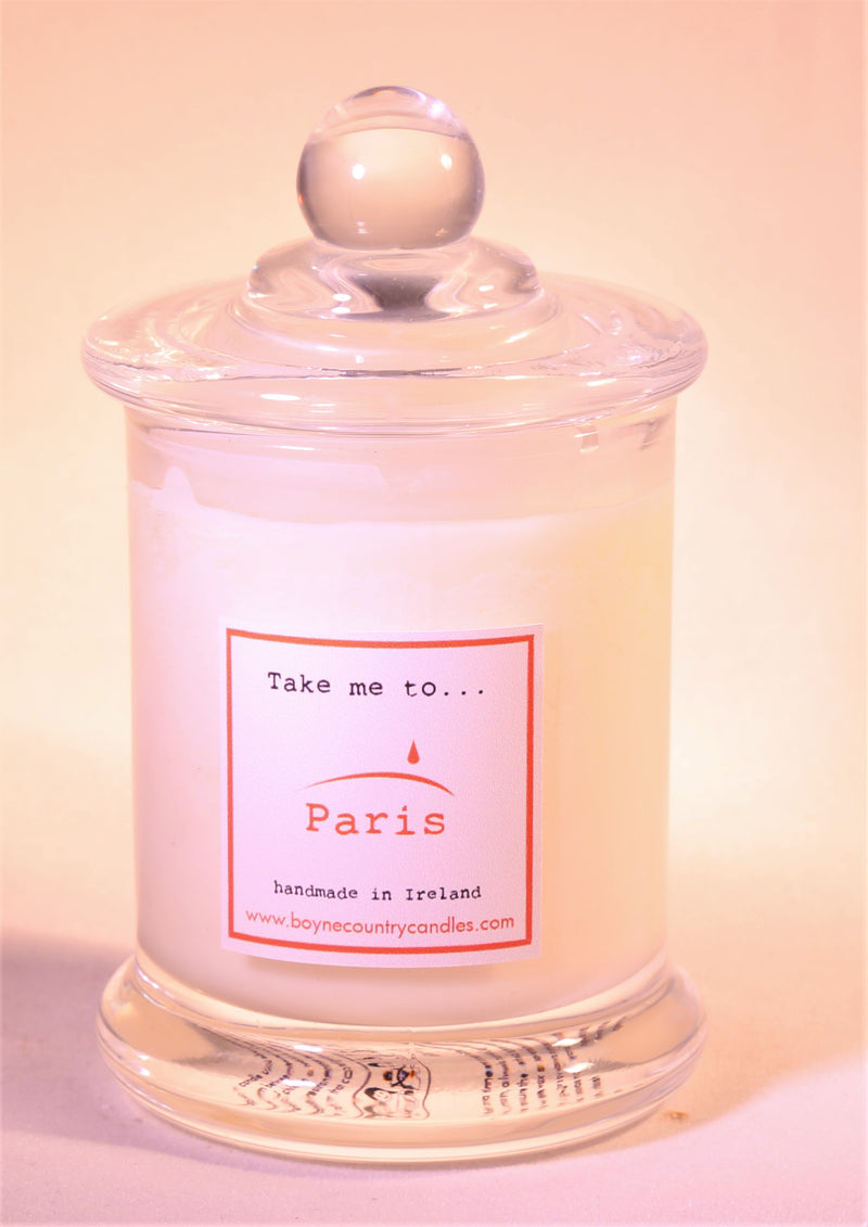 Take me to ..... Paris Candle - 10cl