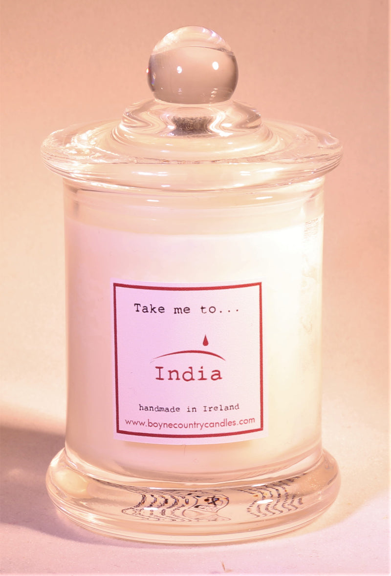 Take me to ..... India Candle - 10cl