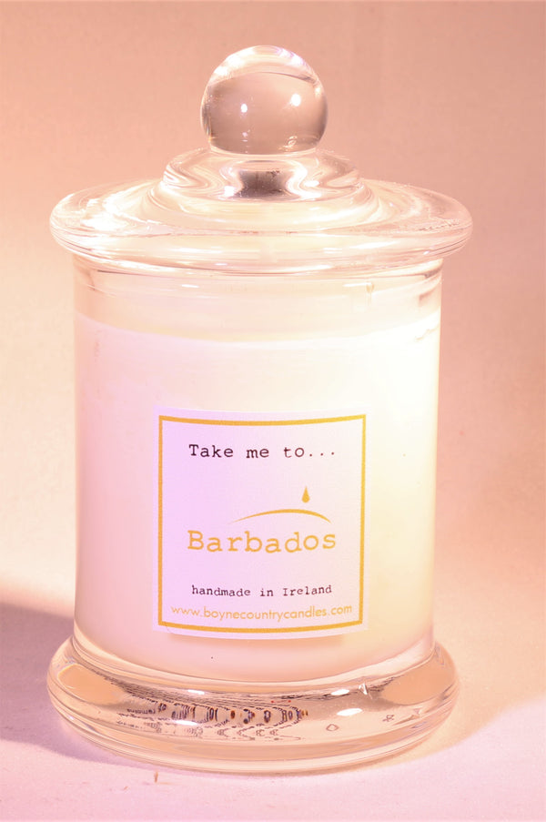 Take me to ..... Barbados Candle - 10cl