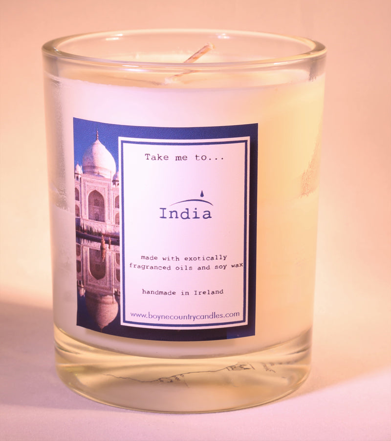 Take me to ..... India Candle - 30cl