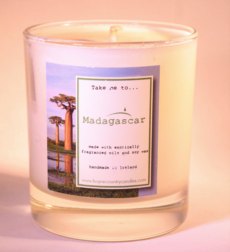 Take me to ...... Madagascar Candle - 30cl