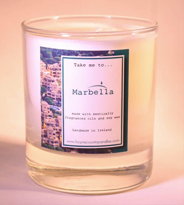 Take me to ..... Marbella Candle - 30cl