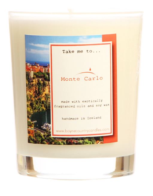 Take me to ..... Monte Carlo Candle - 27cl