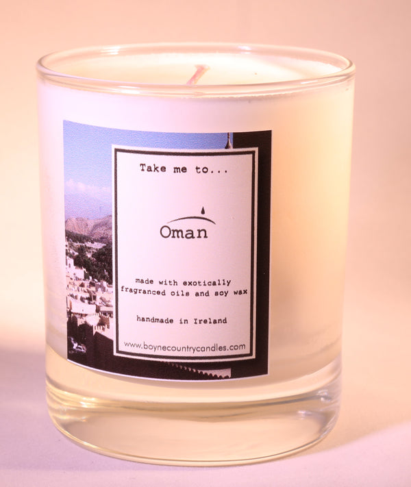 Take me to ..... Oman Candle - 30cl