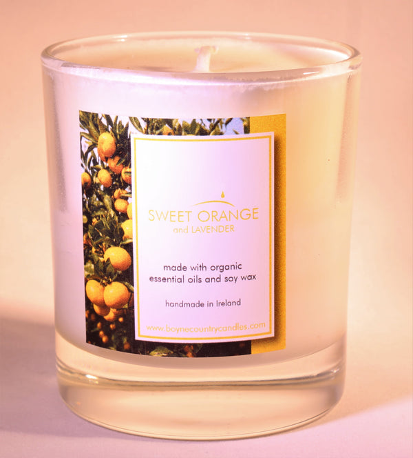 Sweet Orange & Lavender Candle 30cl