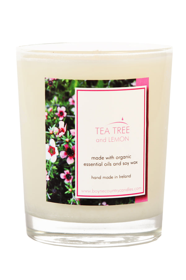 Tea Tree & Lemon Candle - 30cl