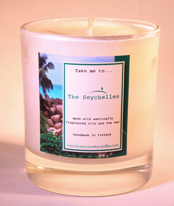 Take me to ...... The Seychelles Candle - 30cl