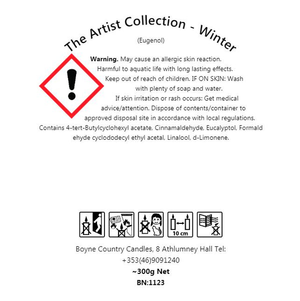Winter - Artist Collection Candle - 30cl