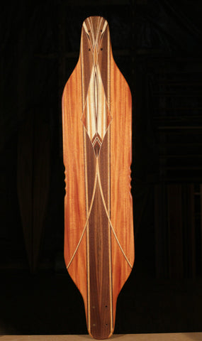"Warren Pieces Bottlenose Skateboard ""The Pen"""