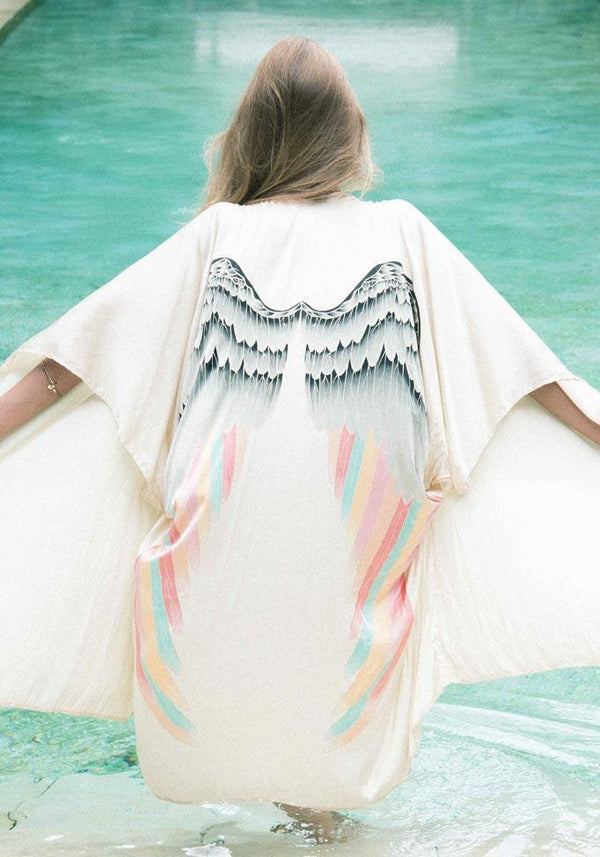 Cream with Silver Warrior Pastel Wings