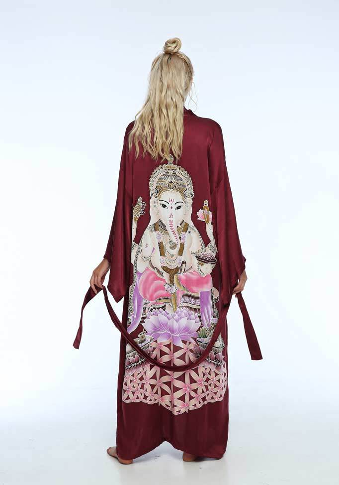 GANESHA'S GOT YOUR BACK Bathrobe Luxe