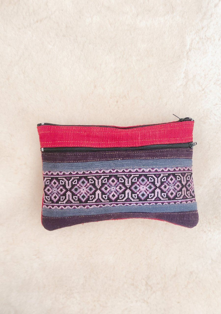 THAI MAKE UP BAG AND PENCIL CASE