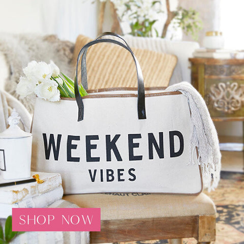 Shop our weekend vibes tote